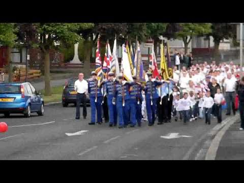 Is This The Biggest Flute Band Ever To Walk In Northern Ireland