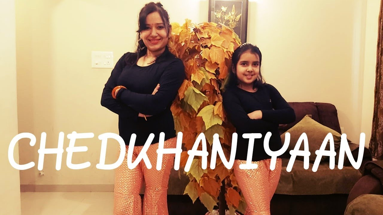 CHEDKHANIYAAN DANCE COVER | MOM & DAUGHTER | BANDISH BANDITS | SONAL DEVRAJ & NICOLE CONCESSAO