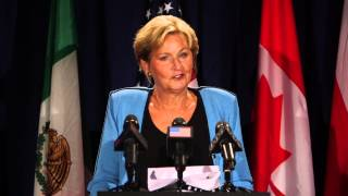 Kim O'Brien Defends Annuities at the United Nations