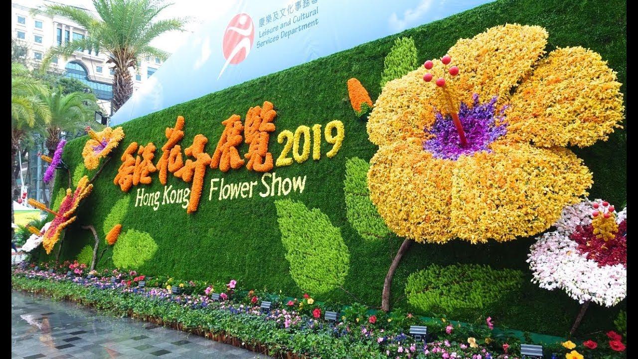香港花卉展覽 2019 - YouTube