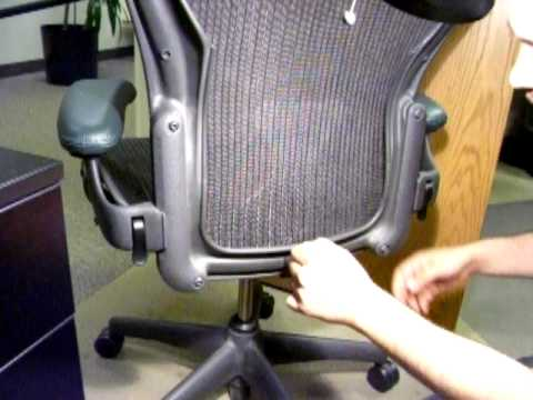 Posturefit Chair What S The Best Gaming For Xbox One Posture Fit Installation Aeron Youtube