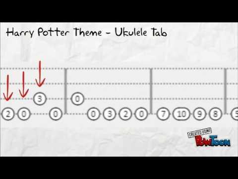 Harry PotterTema- Uke Tab