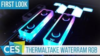 Thermaltake WaterRam RGB: Liquid Cooled RAM Modules #CES2019