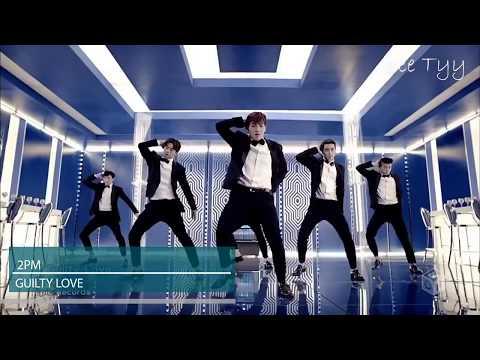 2PM MV History (2008-2018)