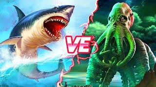 Megalodon ve Kraken Karşılaşsaydı, Kim Galip Gelirdi?