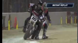 Jared Mees/Johnny Lewis Daytona 2012 crash