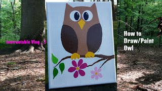 How to Draw Paint Owl