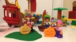 Disney Junior Jake and the Never Land Pirates Captain Hook and the Golden Pumpkin Play-Doh Jake