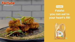 Fortune Healthy Heart Recipes | Falafel | Chef Pallavi Nigam