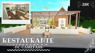 BLOXBURG| Restaurante sin gamepass 38k