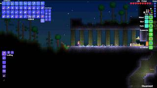"Terraria : (Nonsense) Multiplayer- Patch 1.1 ""Introduzione e sfida contro Skeletron"""
