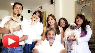 mahesh manjrekar family photoshoot watch now marathi entertainment