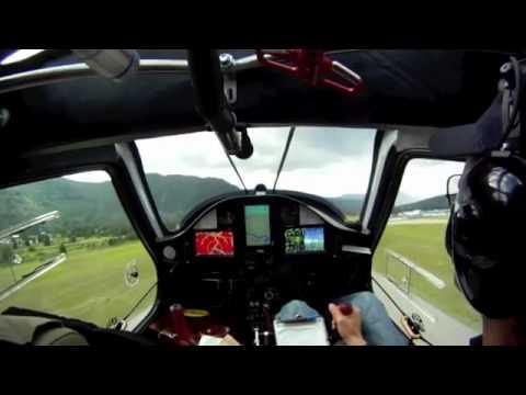 Pipistrel Virus sw taildragger landing and takeoff