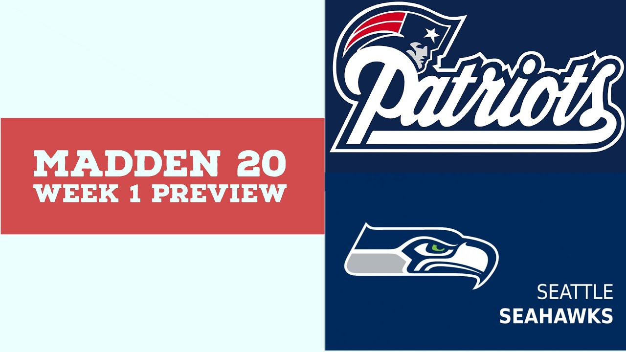Download 2020 Week 2 Preview - New England Patriots vs Seattle Seahawks - Full Game - Simulation Nation