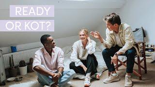 Video: Lilo, Stéphan en Michael van 'Op kot' over luide, vervelende en verliefde kotgenoten