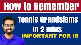 ✅  Tennis Grand Slams के बारे में सब कुछ जाने, मात्र 5 Min में