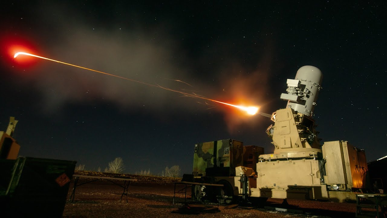 C-RAM Testing & Training - Counter Rocket, Artillery, and Mortar System