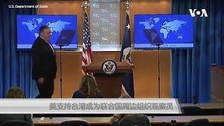 美支持台湾成为联合国周边组织观察员