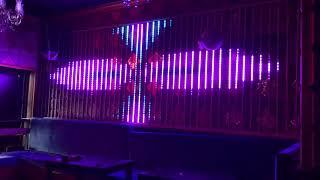 Pixel Şerit Led ile Pixel Dekorasyon Uygulaması zarife night  Club Pixel Duvarı