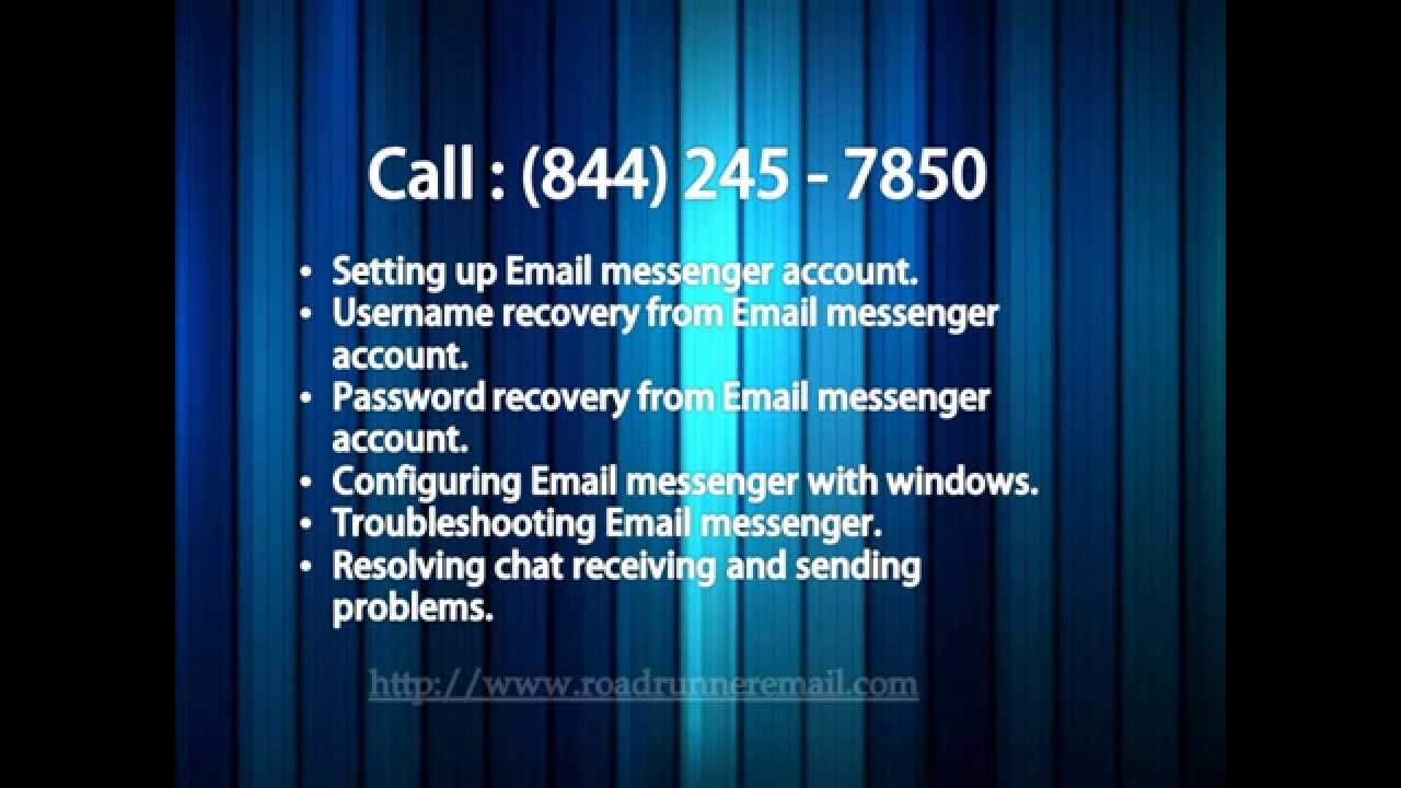 Road runner email sign in - Roadrunner Email Support Contact Number 844 245 7450