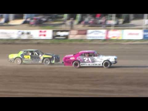 Dacotah Speedway Wissota Street Stock Heats (7/8/16)