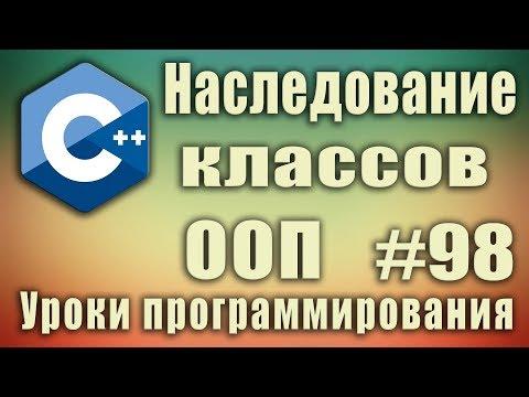 Наследование в ООП пример. Что такое наследование. Для чего нужно наследование классов. ООП. C++ #98