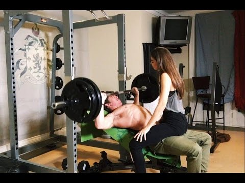 The Proper Way to Use a Spotter on Incline Bench & Flexing Update