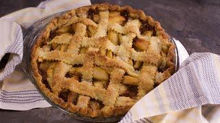 The Perfect Caramel Apple Pie
