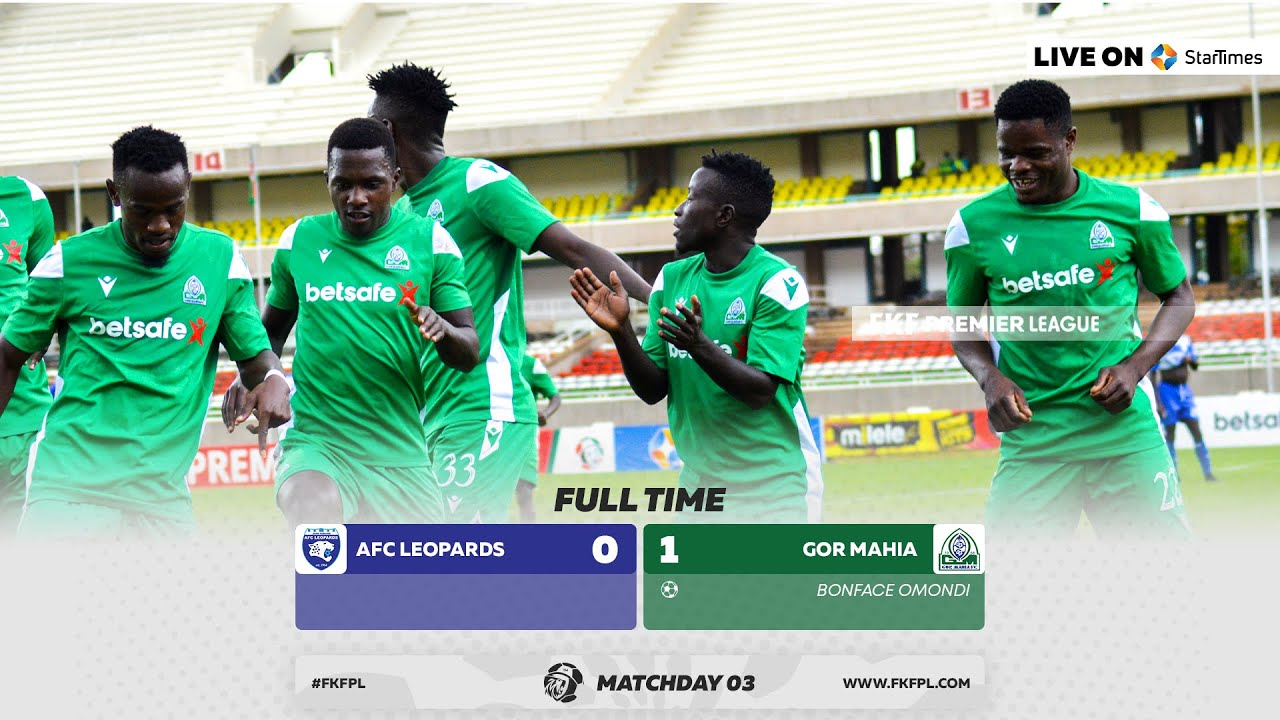 Download AFC LEOPARDS Vs GOR MAHIA VOICED HIGHLIGHTS