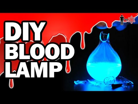 DIY BLOOD LAMP - Man Vs Science #8