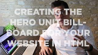 Creating the Hero Unit / Billboard Style in HTML / CSS