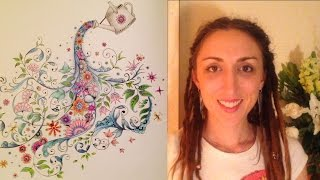 How to blend colour pencils. Two colour shading. Crisanne's Colouring Class for Adults - Episode 2