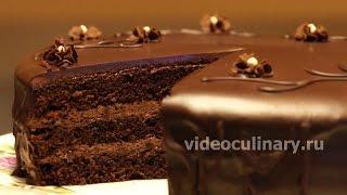 Простой шоколадный бисквитный торт - Рецепт Бабушки Эммы(Рецепт - Простой шоколадный бисквитный торт от http://www.videoculinary.ru/ Бабушка Эмма делится Видео-рецептом Простог..., 2015-08-03T09:52:15.000Z)