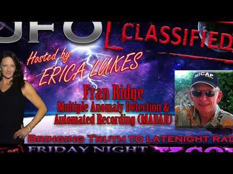 UFO Classified with Erica Lukes  | Fran Ridge