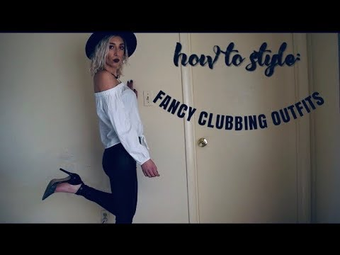 HOW TO STYLE pt 2: CLUBBING OUTFITS/LUXURIOUS NIGHT OUT 1