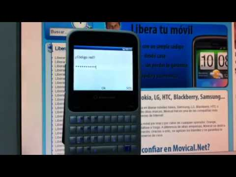 Liberar Vodafone 555 Blue, desbloquear Alcatel V555 de Vodafone Movical Net