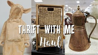 Thrift with Me at Goodwill+Awesome  Home Decor Thrift Haul!