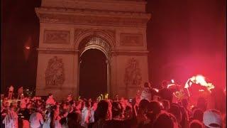 CAN2019 - Qualification de l'Algérie : incidents sur les Champs-Élysées (7 juillet 2019, Paris)