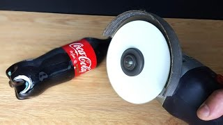 Can You Cut Coca Cola with Paper ???