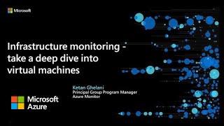 Infrastructure monitoring | Azure Monitor Virtual Series