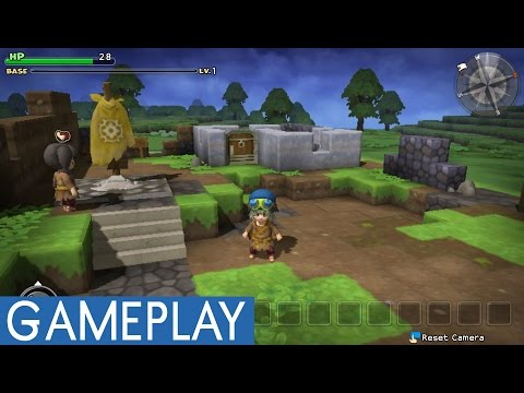 Dragon Quest Builders English PS Vita Gameplay (PS Vita/PS4)
