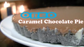 How To Make: Oreo Caramel Chocolate Pie  Beauty But Not Quite