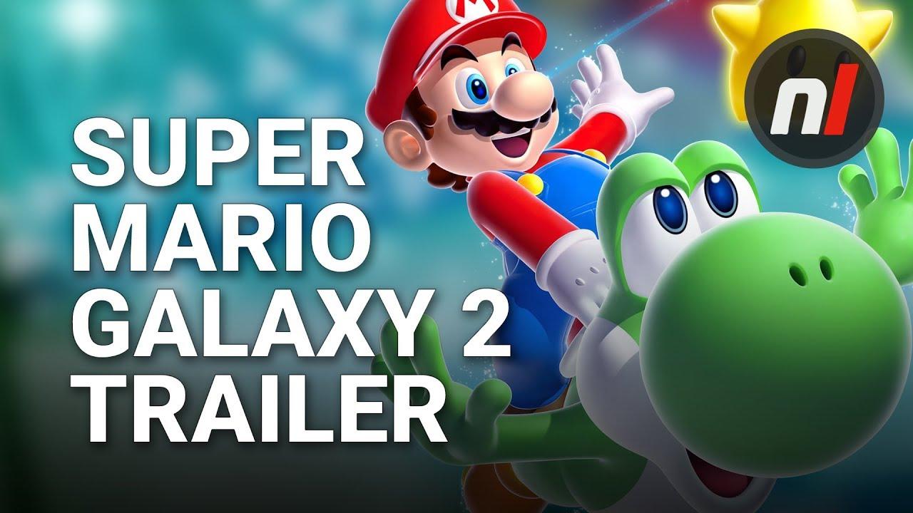 super mario galaxy 2 official e3 trailer  youtube
