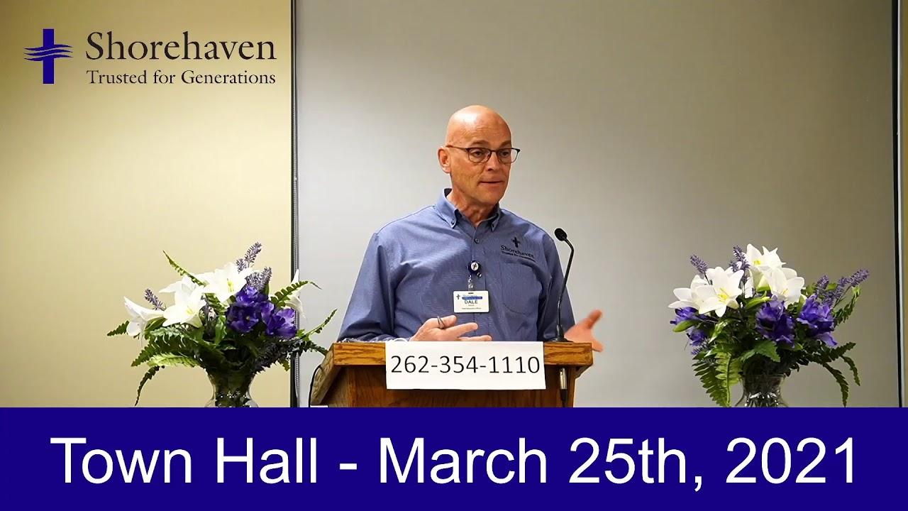 Town Hall 3-25-21