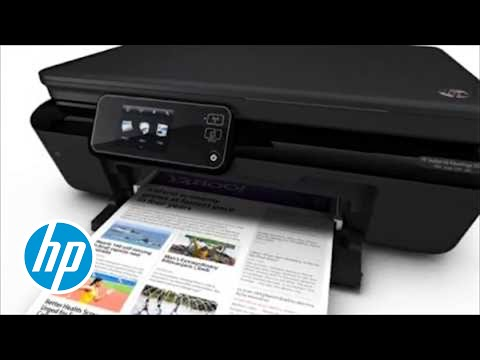 hp photosmart 5525 l 39 imprimante intelligente youtube. Black Bedroom Furniture Sets. Home Design Ideas