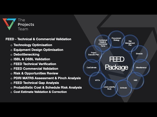 Project FEED Technical & Commercial Evaluation & Validation