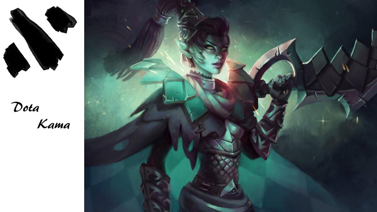 Dota 2: Dame de Carreau Set- Phantom Assassin - YouTube