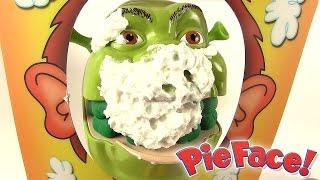 Shrek et le singe Pie Face Showdown Super Duel