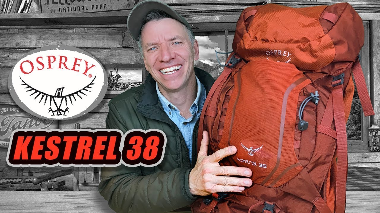 9a72b309d664 Osprey Kestrel 38 BackPack REVIEW - YouTube