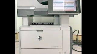 Review HP Laserjet Enterprise 500 MFP M525